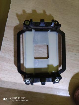 Base para placa base de refrigerador ventilador