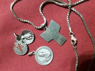 lote plata antigua