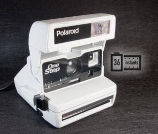 Polaroid one step BLANCA
