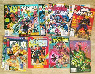 lote de 15 comics de La era de Apocalipsis