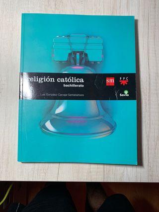 Libro de Religión católica bachillerato