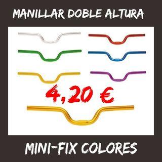 Manillar doble altura Mini-Fix