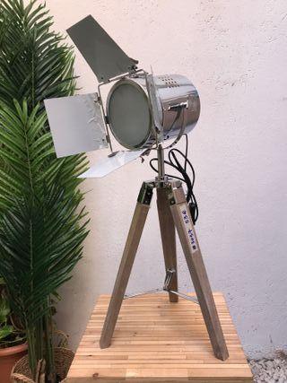 Lámpara estilo Foco Cine