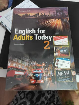 "Libro de inglés ""English for Adults today 2"""