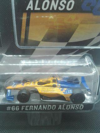 Indycar Fernando Alonso 2019 Greenlight 1/64