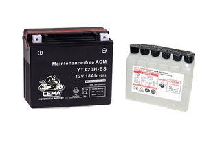 Batería de moto YTX20H-BS | AGM