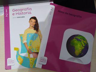 Libro de Geografía e Historia Santillana