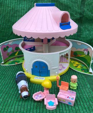 Casa casita pin y pon la cabaña de feber