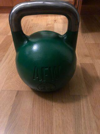 Ketbell olímpica 24kg