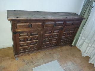 Mueble aparador castellano rustico
