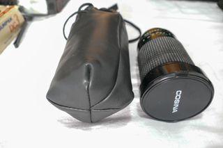 Objetivo Cosina macro 28-200mm.