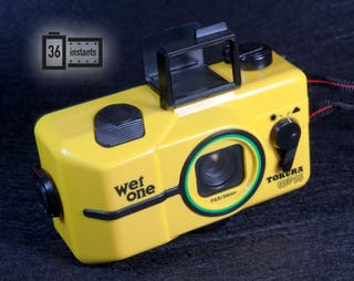Divertida, rara camara acuática WET ONE WP35 NUEVA