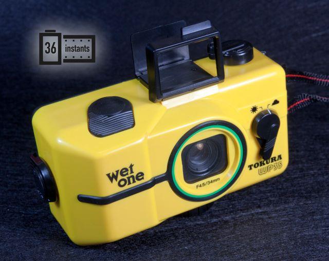 Divertida, rara camara acuática WET ONE WP35 NUEVA