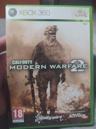 Xbox 360 juegos Call of duty Modern Warfare 2 y 3