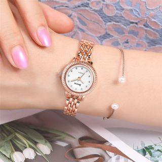 Reloj Para Mujer Con Cristales De Imitación. Pila