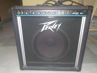 amplificador de bajo peavey
