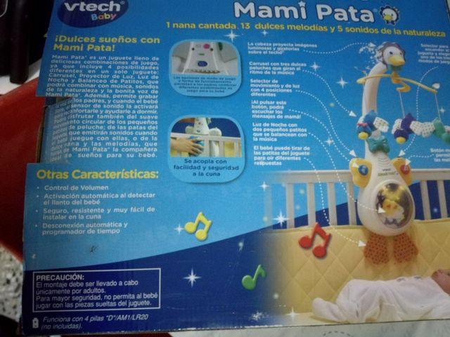 MAMI PATA Vitech Musical carrusel proyector