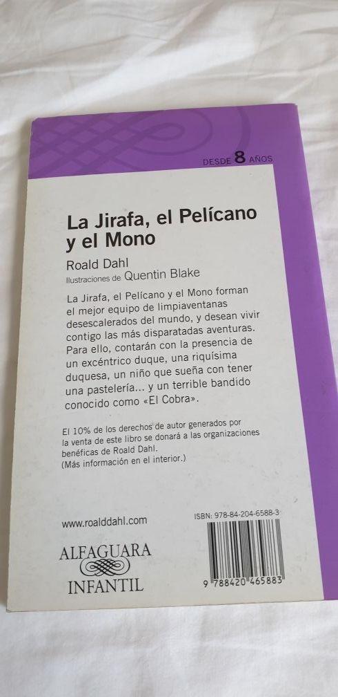 LA JIRAFA, EL MONO Y EL PELICANO