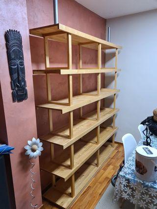 Estanteria de madera de Ikea