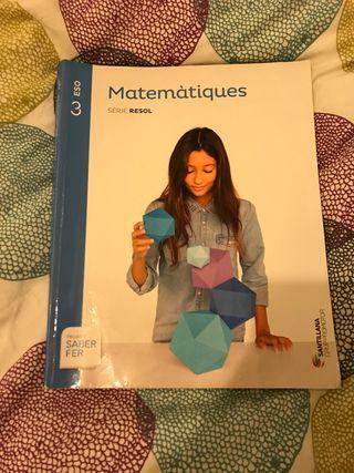 Libro matemáticas 3r ESO