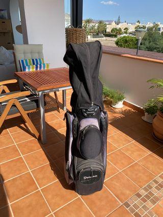 Bolsa y palos de golf Taylor Made