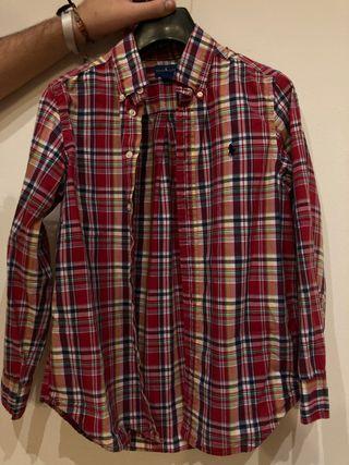 Camisa Ralph Lauren como nueva niño t-10-12