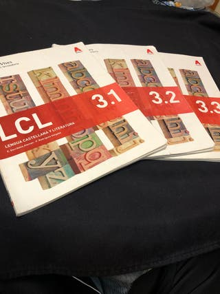 Libros de lengua y literatura (3o ESO)