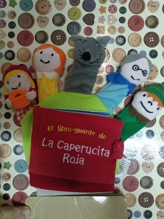 marioneta, titella, conte, cuento, Caperucita