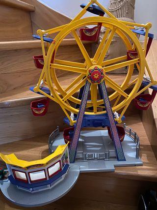 Playmobil noria y carrusel