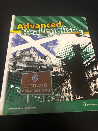 Libro Advanced Real English (3 ESO)