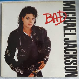 Michael Jackson - Bad (LP, Album) (1987,ES)