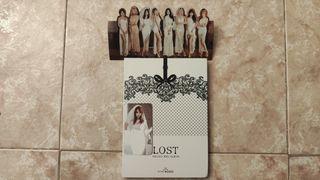 9MUSES kpop LOST + GyeongRee photocard + standie