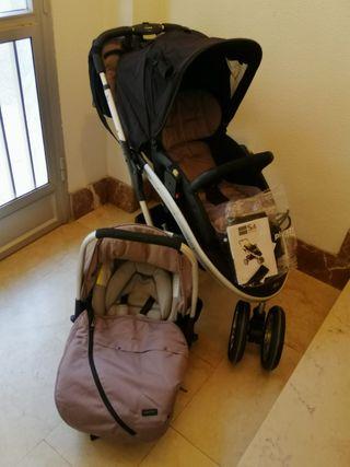 carro bebé Casualplay s4 + maxicosi grupo 0