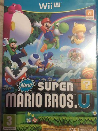 Súper Mario Bros de la Nintendo Wii U