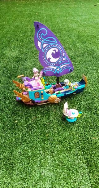 Lego barco élves