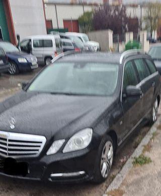 Despiecé Mercedes W212 E 300cdi