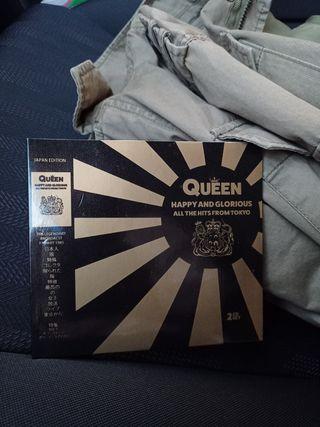 2 CD nuevo Queen Live in Japan