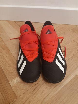 zapatillas niño fútbol adidas n.32