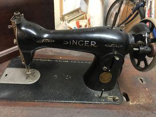 Máquina coser Singer años 20