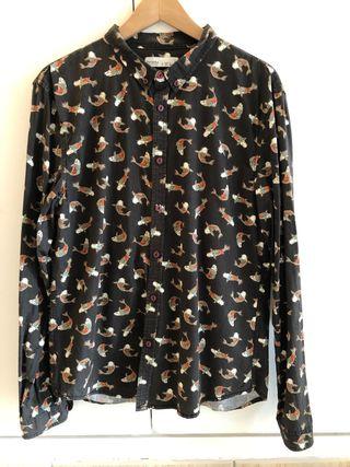 Camisa de carpas japonesas