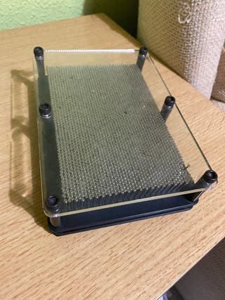 Pinhead 3-Dimensional Pin Sculpture