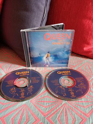 2CD Queen Live at Wembley stadium