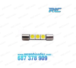 BOMBILLA LED TIPO FUSIBLE 31 MM