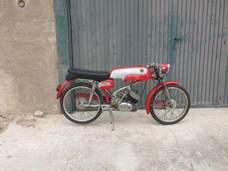 MOTO ANTIGUA, DERBI GRAN SPORT 74 CC.