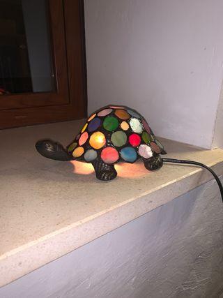 Lámpara colores tortuga