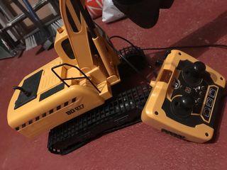 Grúa excavadora radio control