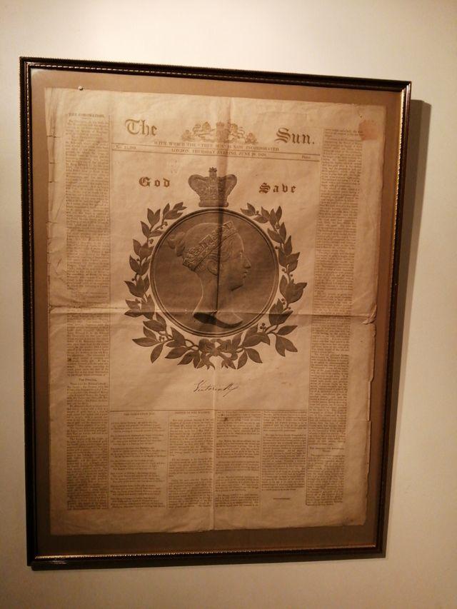 The Sun Gold Queen Victoria's coronation