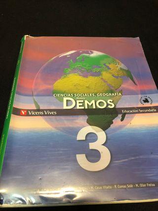 Libro de Sociales (3o ESO)