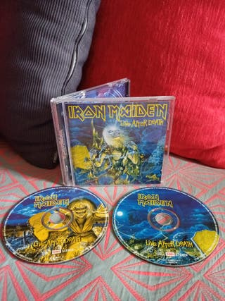 2 CD Iron Maiden Live after death