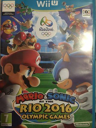 Mario & Sonic Río 2016 Nintendo Wii U